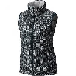 Mountain Hardwear Women's Ratio Down Vest Blue Spruce Print