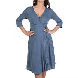 Indigenous Designs Women's Summer Wrap Dress Denim