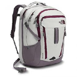 The North Face Women's Surge Backpack Vaporous Grey Light Heather / Rabbit Grey