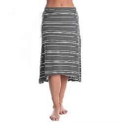 Indigenous Designs Women's A-Line Skirt Rock / White Stripe