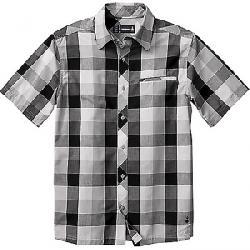 Smartwool Men's Everyday Exploration Retro Plaid SS Shirt Light Grey