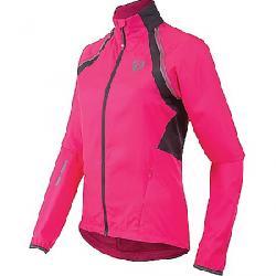 Pearl Izumi Women's ELITE Barrier Convertible Jacket Screaming Pink / Smoked Pearl