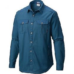 Columbia Men's Hyland Woods Shirt Jacket Blue Heron