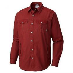 Columbia Men's Hyland Woods Shirt Jacket Deep Rust