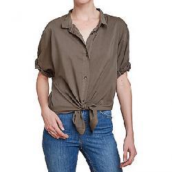 Splendid Women's Boyfriend SS Shirt Military Olive