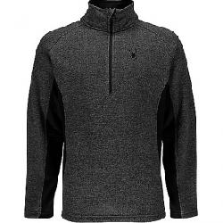 Spyder Men's Outbound Novelty Mid Wt Jacket Black / Limestone