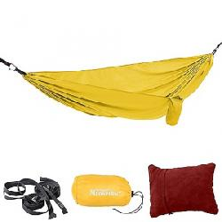 Moosejaw CO-LAB Nappetizer Hammock Kit by Therm-a-Rest Banana