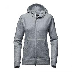 The North Face Women's Re-Source Full Zip Hoodie Mid Grey Heather