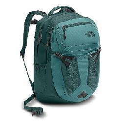 The North Face Women's Recon Backpack Bristol Blue / Jasper Green