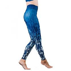 Vie Active Women's Rockell Full Length Legging Blue Mist Ombre