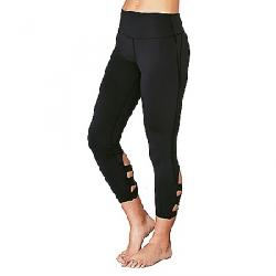 Manduka Women's Cross-Back Crop Legging Black
