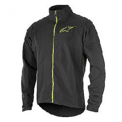 Alpine Stars Men's Descender 2 Jacket Black / Acid Yellow