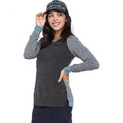 Toad & Co Women's Trillium Crew Sweater Charcoal Heather