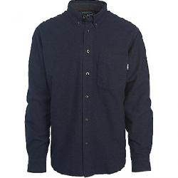 Woolrich Men's Sportsman Chamois Shirt Dark Navy Heather