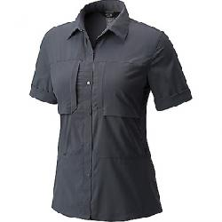 Mountain Hardwear Women's Canyon Pro Short Sleeve Shirt Graphite