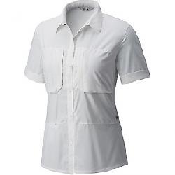 Mountain Hardwear Women's Canyon Pro Short Sleeve Shirt Fogbank