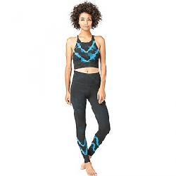 Electric & Rose Women's Grayson Crop Top Asphalt / Sapphire