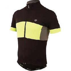 Pearl Izumi Men's ELITE Escape Semi-Form Jersey Black / Screaming Yellow