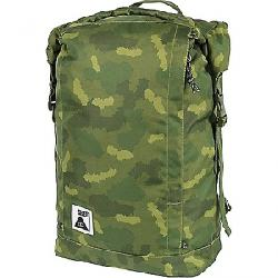 Poler Stuff Classic Rolltop Pack Green Fury Camo