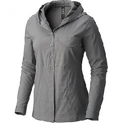 Mountain Hardwear Women's Citypass Long Sleeve Shirt Manta Grey