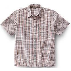 Royal Robbins Men's Desert Pucker SS Shirt Acorn