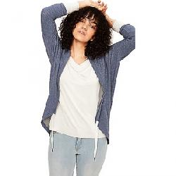 Lole Women's Addison Cardigan Mirtillo Blue Heather