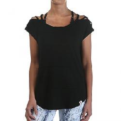 Vimmia Women's Pacific Pintuck Criss Cross Shoulder Top Black