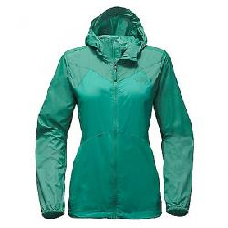 The North Face Women's Flyweight Hoodie Pool Green / Porcelain Green