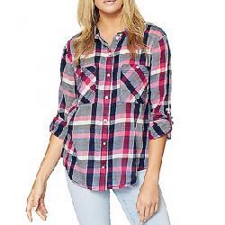 Sanctuary Women's Steady Boyfriend Shirt Cheerful Check