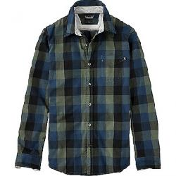 Timberland Men's Back River Brushed Oxford Check Shirt Green Gables YD