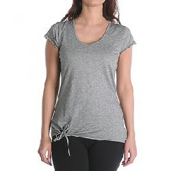 Indigenous Designs Women's Tie Front Tee Charcoal