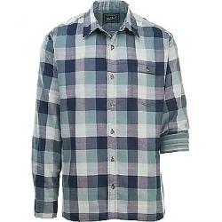 Woolrich Men's Eco Rich Weekend Double Weave LS Shirt Deep Indigo