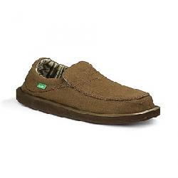 Sanuk Men's Chiba Stitched Shoe Dark Brown