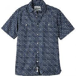 Mountain Khakis Men's Ace Indigo SS Shirt Indigo Print
