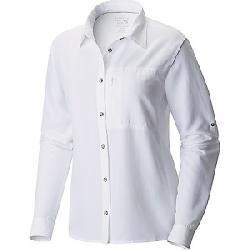 Mountain Hardwear Women's Canyon LS Shirt White
