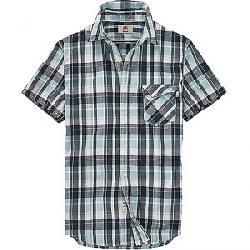 Timberland Men's Still River CoolMax Plaid SS Shirt Dark Sapphire