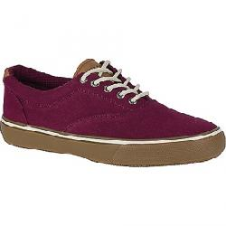 Sperry Men's Striper LL CVO Textured Canvas Shoe Burgundy