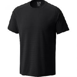 Mountain Hardwear Men's MHW VNT Short Sleeve Black