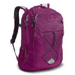 The North Face Women's Jester Backpack Wild Aster Purple Emboss / Galaxy Purple