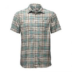The North Face Men's Baker SS Shirt Bristol Blue Plaid