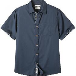 Mountain Khakis Men's Cottonwood SS Shirt Navy Solid