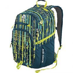 Granite Gear Buffalo Backpack Linear Metric / Basalt / Neolime