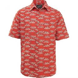 Woolrich Men's Eco Rich Modern Fit Walnut Springs Shirt Cactus Red