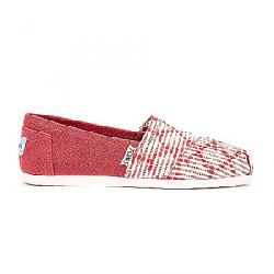 TOMS Women's Classics Shoe Red Woven