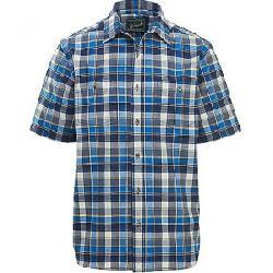 Woolrich Men's Eco Rich Midway Yarn-Dye Shirt Mountain Blue Plaid