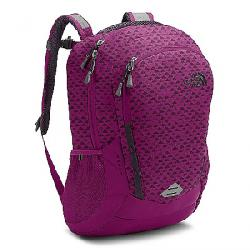 The North Face Women's Vault Backpack Wild Aster Purple Emboss / Galaxy Purple