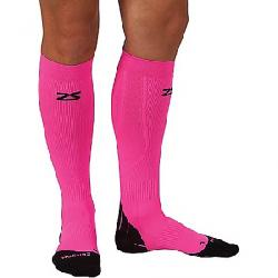 Zensah Tech+ Compression Sock Neon Pink