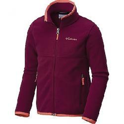 Columbia Youth Fuller Ridge 2.0 Full Zip Fleece Jacket Dark Raspberry