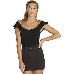 Billabong Women's Black Magic Skirt Black Pebble
