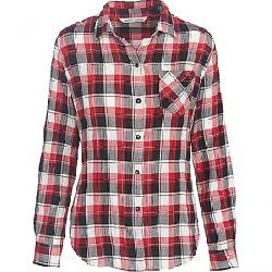 Woolrich Women's Kanan Eco Rich Lightweight Shirt Old Red